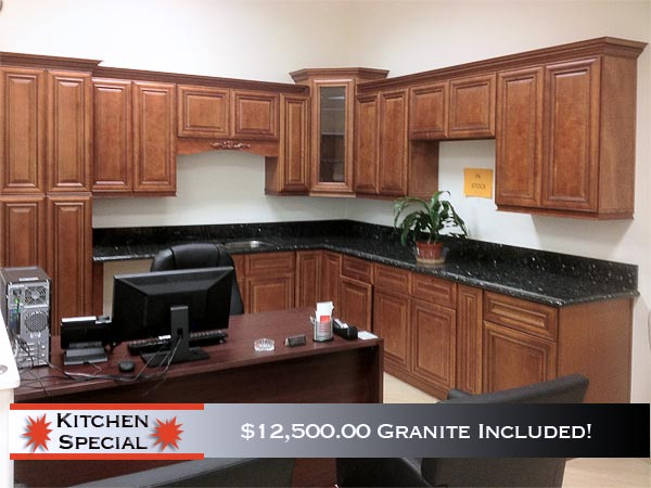 Discount Kitchen Cabinets With Granite Counter