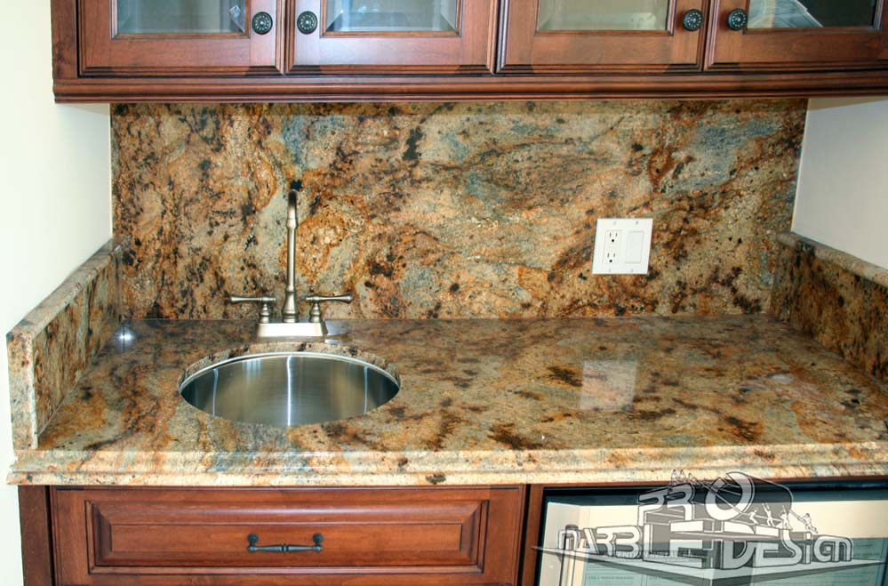 marble wetbar