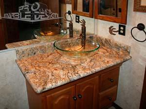 Superbe Bathroom Marble Vanity Granite ...